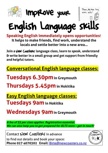 english language classes
